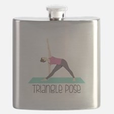 Triangle Pose Flask
