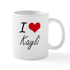 I Love Kayli artistic design Mugs