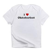 Cute I heart oktoberfest Infant T-Shirt