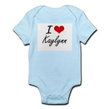 I Love Kaylynn artistic design Body Suit