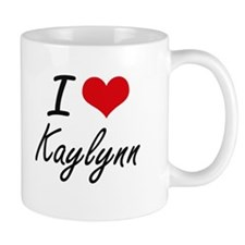I Love Kaylynn artistic design Mugs