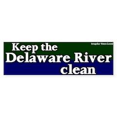 Delaware River Bumper Bumper Sticker