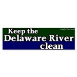 Delaware River Bumper Sticker