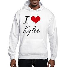 I Love Kylee artistic design Hoodie