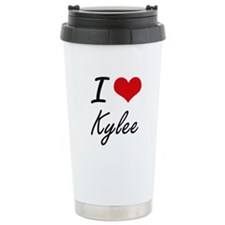 I Love Kylee artistic d Travel Mug