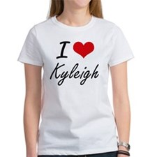 I Love Kyleigh artistic design T-Shirt