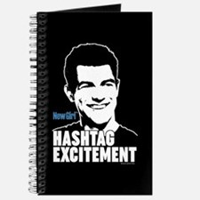 New Girl Hashtag Excitement Journal