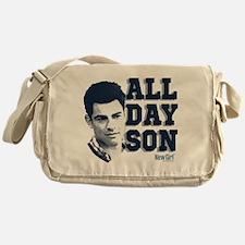 New Girl All Day Son Messenger Bag