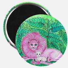Pink Jungle Magnet