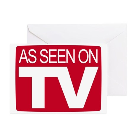 As Seen On TV Greeting Cards (Pk of 20)
