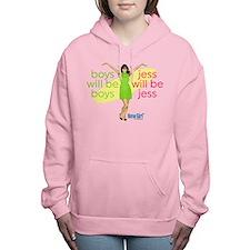 New Girl Jess will be Je Women's Hooded Sweatshirt