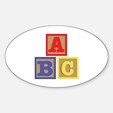 ABC Blocks Decal