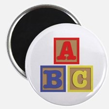 ABC Blocks Magnets