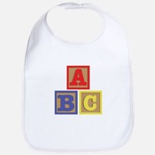 ABC Blocks Bib