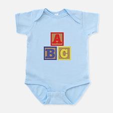 ABC Blocks Body Suit