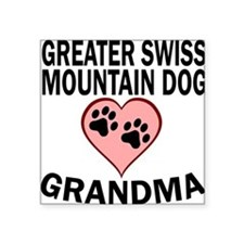 Greater Swiss Mountain Dog Grandma Sticker