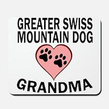 Greater Swiss Mountain Dog Grandma Mousepad