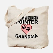 German Wirehaired Pointer Grandma Tote Bag