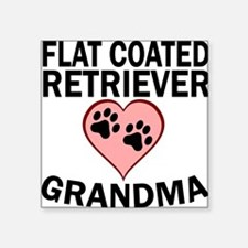 Flat-Coated Retriever Grandma Sticker