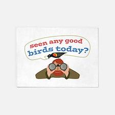 Seen Any Birds 5'x7'Area Rug