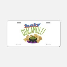 Holy Guacamole Aluminum License Plate