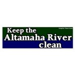 Altamaha River Bumper Sticker