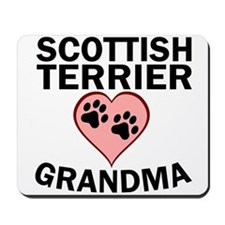 Scottish Terrier Grandma Mousepad