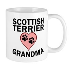Scottish Terrier Grandma Mugs