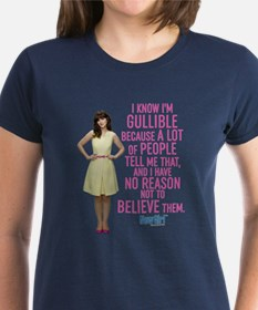 New Girl Gullible Tee