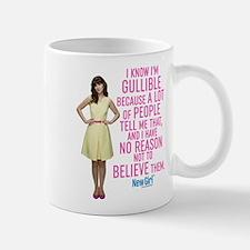 New Girl Gullible Mug