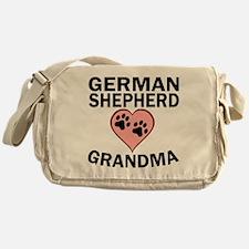 German Shepherd Grandma Messenger Bag