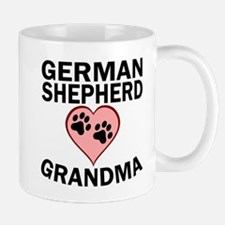 German Shepherd Grandma Mugs