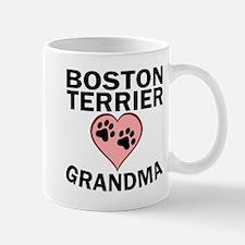 Boston Terrier Grandma Mugs