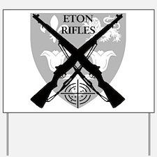 ETON RIFLES Yard Sign