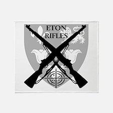 Eton Rifles Throw Blanket