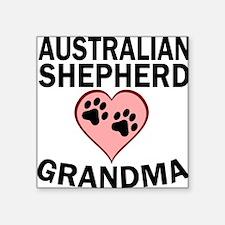 Australian Shepherd Grandma Sticker