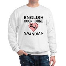 English Coonhound Grandma Sweatshirt