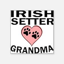 Irish Setter Grandma Sticker
