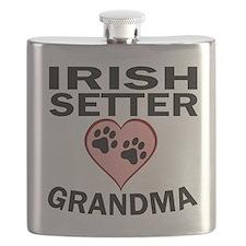 Irish Setter Grandma Flask