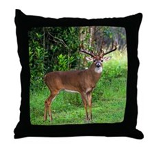 Unique Deer hunting Throw Pillow