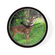 Unique Deer hunting Wall Clock
