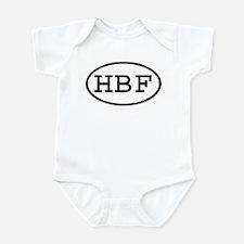 HBF Oval Infant Bodysuit