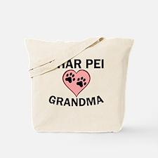 Shar Pei Grandma Tote Bag