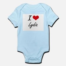 I Love Lydia artistic design Body Suit
