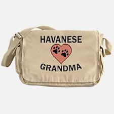 Havanese Grandma Messenger Bag