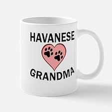 Havanese Grandma Mugs