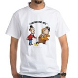 Laurel and hardy Mens Classic White T-Shirts