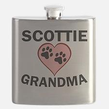 Scottie Grandma Flask