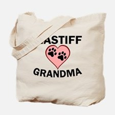 Mastiff Grandma Tote Bag