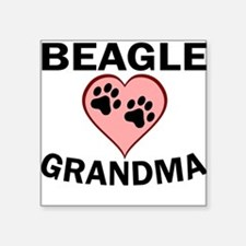 Beagle Grandma Sticker